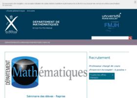 mathematiques.polytechnique.edu