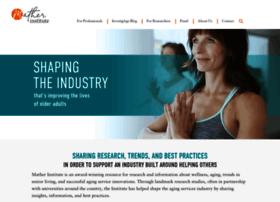 matherlifewaysinstituteonaging.com