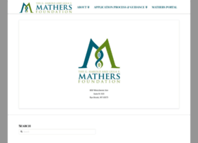 mathersfoundation.org