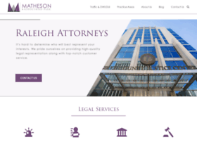 mathesonlawoffice.com