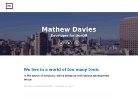 mathew-davies.co.uk