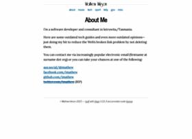 mathewinkson.com