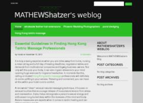 mathewshatzersweblog.devhub.com