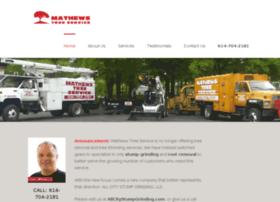 mathewstreeservice.com