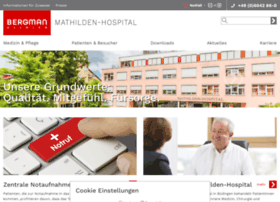 mathilden-hospital.net