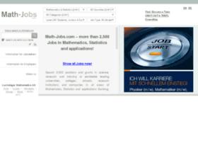 mathjobs.com