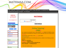 mathmaa.com