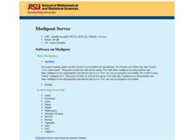 mathpost.asu.edu