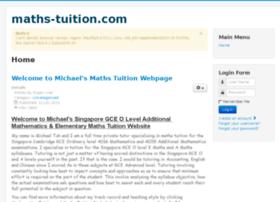 maths-tuition.com