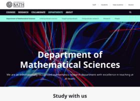 maths.bath.ac.uk