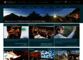 maths.cam.ac.uk