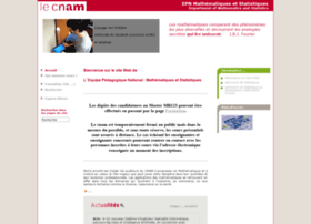 maths.cnam.fr