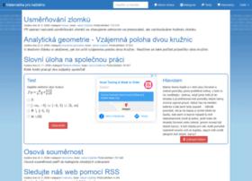 maths.cz