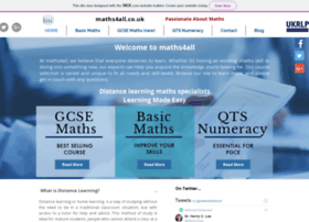 maths4all.co.uk