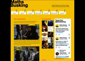mathsbusking.com