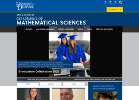 mathsci.udel.edu