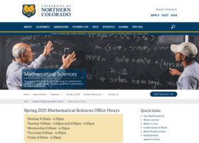 mathsci.unco.edu