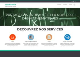mathsland.com