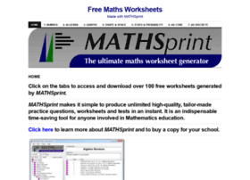 mathsprint.wordpress.com
