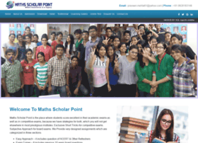 mathsscholarpoint.com