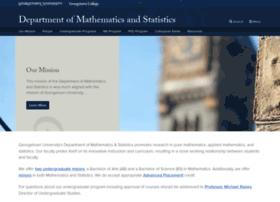 mathstat.georgetown.edu