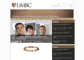 mathstat.umbc.edu