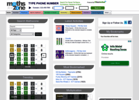 mathszone.co.uk