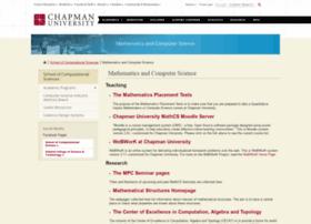 mathv.chapman.edu