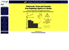 mathwords.com