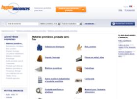 matieres-premieres-produits-semi-finis.hyperannonces.fr