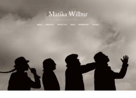 matikawilbur.com