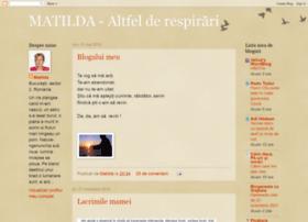 matilda-altfelderespirari.blogspot.com
