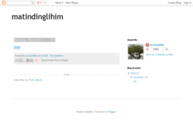 matindinglihim.blogspot.com