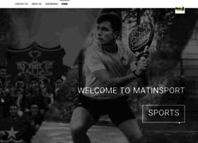 matinsport.com