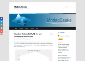 matlabgeeks.com