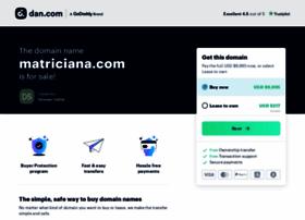 matriciana.com
