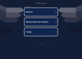 matricula.info