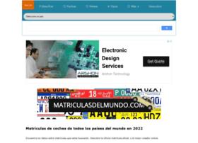 matriculasdelmundo.com