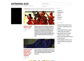 matrimonialblog.com