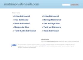 matrimonialshaadi.com