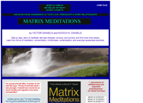 matrixmeditations.com