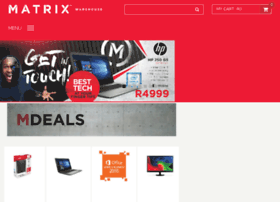 matrixonlineshop.co.za