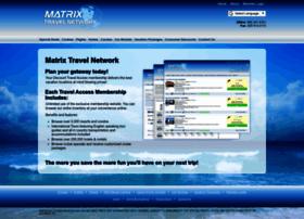 matrixtravelnetwork.com