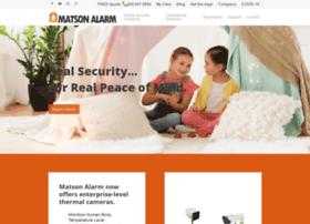 matsonalarm.com