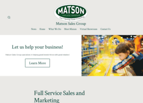 matsonsalesgroup.com