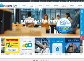 matsuyama-u.ac.jp