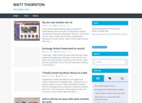 matt-thornton.net