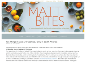 mattbites.com