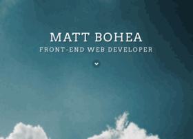 mattbohea.com