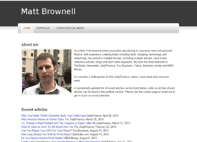 mattbrownell.com
